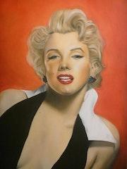 Marilyn pastel 120*80 cm.
