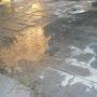 Groznjan, après l'orage d'été Istrie, Croatie. Andreiss