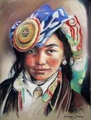 Das Mädchen aus Tibet. Grazyna Federico