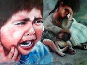 L'orphelin et la guerre.