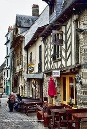 Quaint French Creperie. Paul Shuster Creative Photography