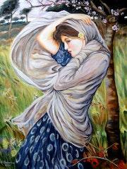 Boreas (nach J. W. Waterhouse). Grazyna Federico