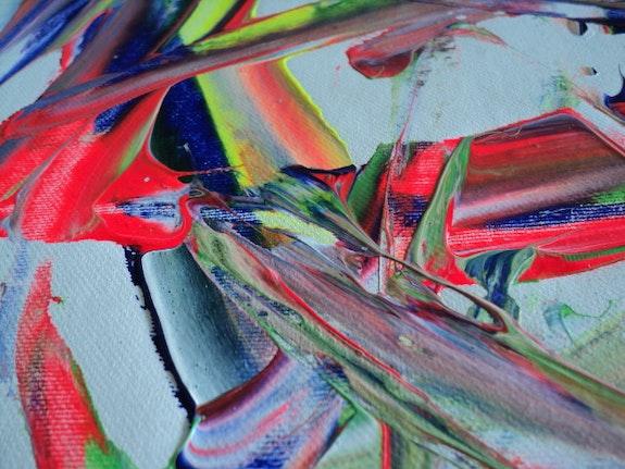Paint & canvas #3. Finch Finch Art