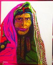 Afghane dévoilée.
