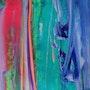 Paint & canvas #6. Finch Art
