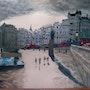 Londres, trafalgar square. Marie-Aude Balthéir