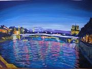 Reflet de la Seine.