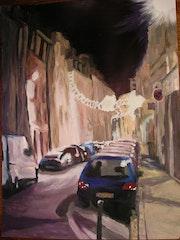 Rue de Bourgogne à Orléans.