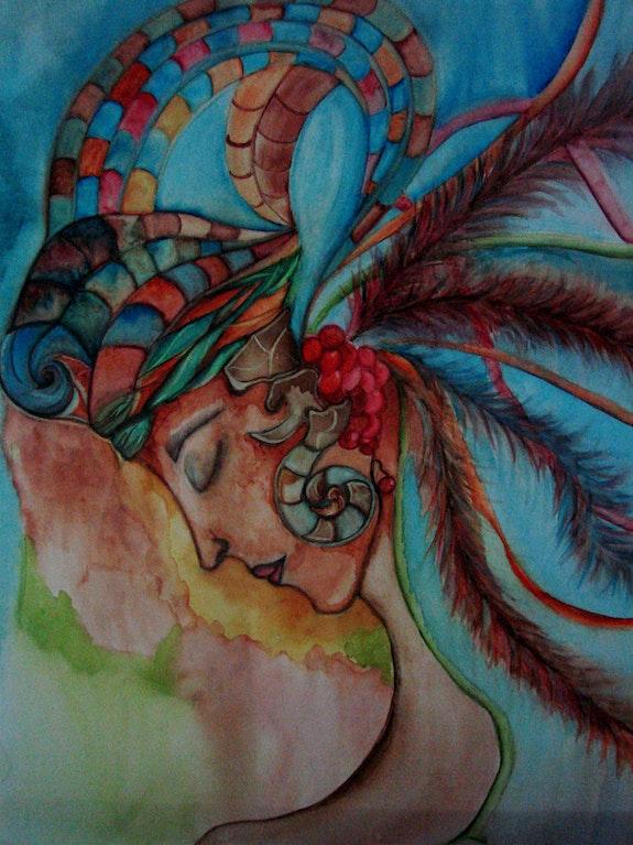 Gaia madre tierra. Pilar Ortiz Pilar Ortiz Fine Art