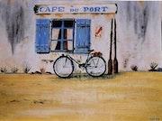 Le café du port. Mimi