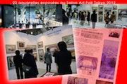 Exposition de mes aquarelles au Japon.