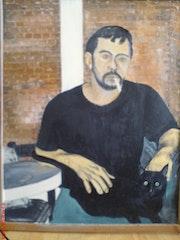 Mon 1er autoportrait.