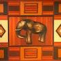 Patchwork -éléphant. Anita De Martini