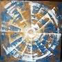 Spiralité 2 (flash-back d'une vue de la Terre). Nikolas Kristof