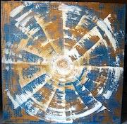 Spiralité 2 (flash-back d'une vue de la Terre).