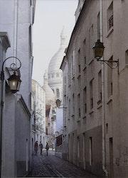 La magie de Montmartre….