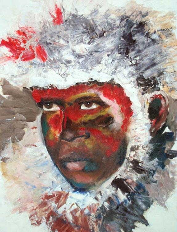 Black warrior.  Jean-Louis Halley