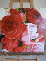 Les roses. Vincent