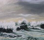 La vague,.