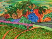 Tahitian Landscape. George Hutton Hunter