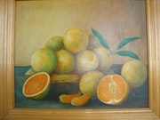 Nature morte aux oranges.