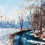 Sous la neige. Dany Trianon