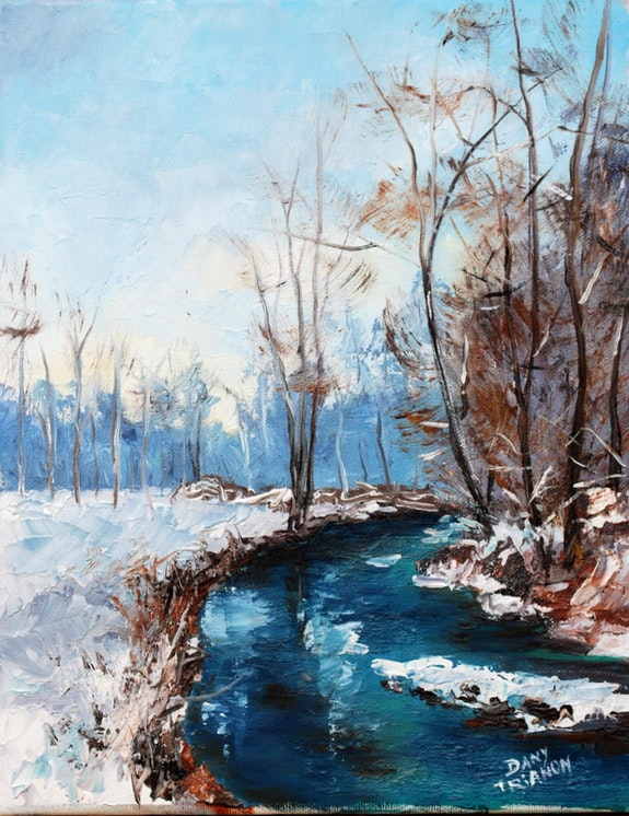 Sous la neige. Dany Trianon Dany Trianon