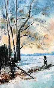 L'arbre tordu. Dany Trianon