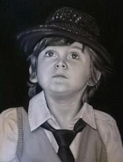 Portrait d enfant.