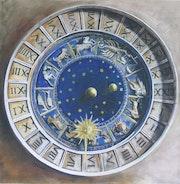 Horloge astronomique de Venise. Françoise Detrie