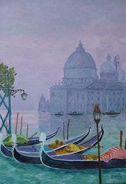 Venise: Santa Maria della Salute.