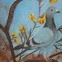 Le pigeon bleu. Brigitte Leleu