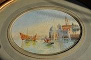 Félix ziem «Venise vers 1850». La Galerie d'Alexandre