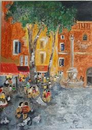 Soir d'été à Collioure.
