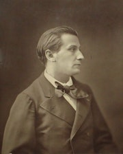 Nadar. Photoglyptie (François Coppée) de 1880.. Artlux