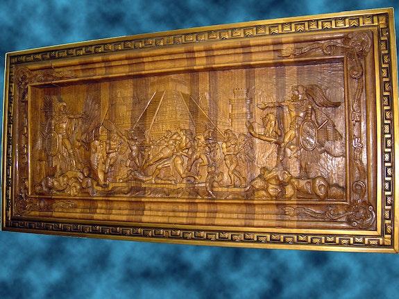 Batalla entre Aztecas y Tlaxcaltecas. Jose Antonio Alcantar Jose Antonio Alcantar