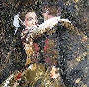 Couple de danseurs.