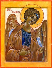 Archange Gabriel. Raymond Brizot