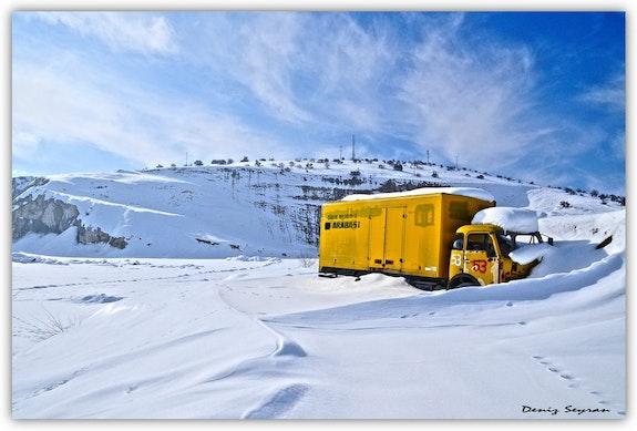 Snow and Sun-II.  C. Deniz Seyran