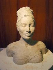 Jeune femme au turban.