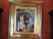 Huile sur toile, signée «paul flaubert«1928-1994. Annie Neyton
