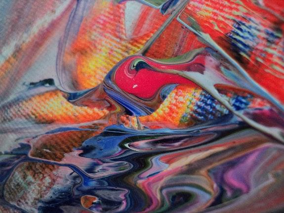 Paint & canvas. Finch Finch Art