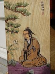 Penseur Taoiste Chinois IVème siècle A. V J. C..