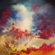 «Moïse» - toile réalisée en avril 2012.