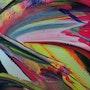 Paint & canvas #7. Finch Art