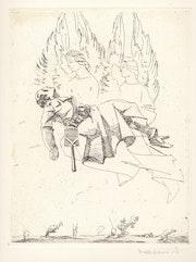 Armand Massonet. Gravure tirée sur vélin ivoire signée au crayon.. Artlux