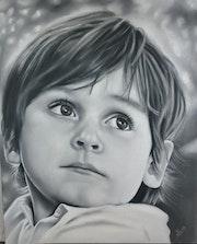 Portrait d enfant 2.