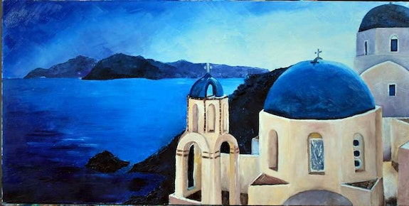 Dans les Cyclades.  Dany Trianon