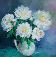 Pivoines blanches. Dany Trianon