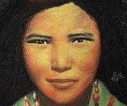 Les yeux noirs - Tibétaine.